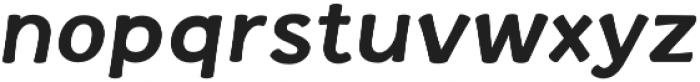La Veronique Notes Bold Italic otf (700) Font LOWERCASE