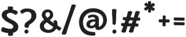 La Veronique Notes Bold otf (700) Font OTHER CHARS