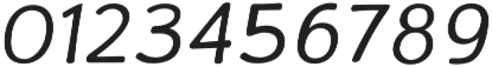 La Veronique Notes Italic otf (400) Font OTHER CHARS