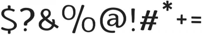 La Veronique Notes otf (400) Font OTHER CHARS