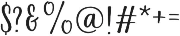 La Veronique Sans otf (400) Font OTHER CHARS
