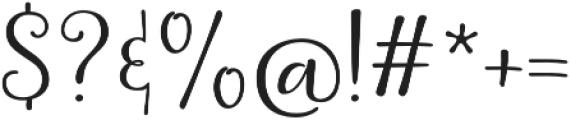 La Veronique Two otf (400) Font OTHER CHARS