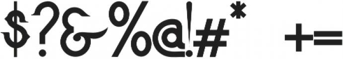 LaFiesta otf (400) Font OTHER CHARS