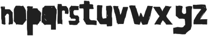 LaSegunda ttf (400) Font LOWERCASE