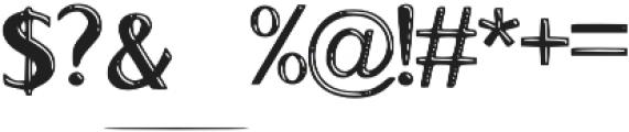 La_pontane_Hightlight otf (300) Font OTHER CHARS