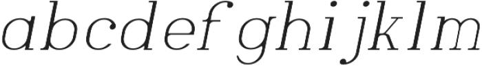 Laahleggek otf (300) Font LOWERCASE