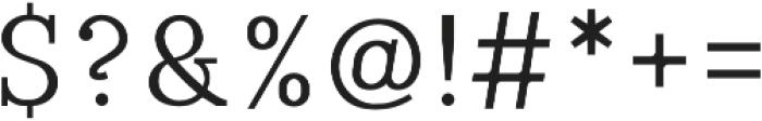 Laahleggek otf (400) Font OTHER CHARS