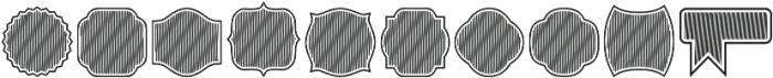 Label Pro XL BS Regular otf (400) Font OTHER CHARS