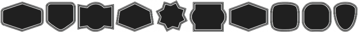 Label Pro XL Black B2 Regular otf (900) Font OTHER CHARS