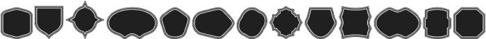 Label Pro XL Black B2 Regular otf (900) Font UPPERCASE