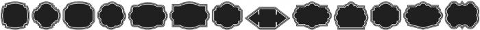 Label Pro XL Black B2 Regular otf (900) Font LOWERCASE