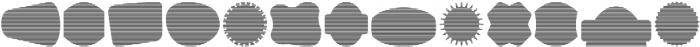 Label Pro XL Stripes otf (400) Font UPPERCASE