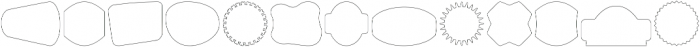 Label Pro XL Thin otf (100) Font UPPERCASE