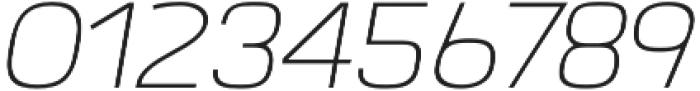 Labrador A ExtraLight Italic otf (200) Font OTHER CHARS