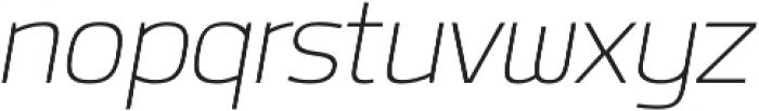 Labrador A ExtraLight Italic otf (200) Font LOWERCASE