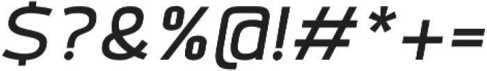 Labrador A Medium Italic otf (500) Font OTHER CHARS