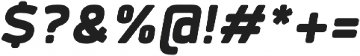 Labrador B Black Italic otf (900) Font OTHER CHARS
