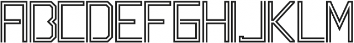 Labyrinth Regular otf (400) Font UPPERCASE