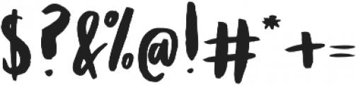 Ladonna Regular otf (400) Font OTHER CHARS