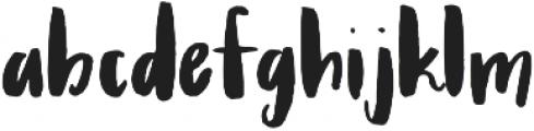 Ladonna Regular otf (400) Font LOWERCASE