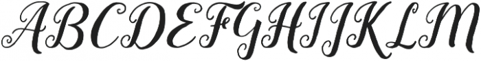 Lady Love otf (400) Font UPPERCASE