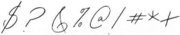 Lady Luminous otf (400) Font OTHER CHARS