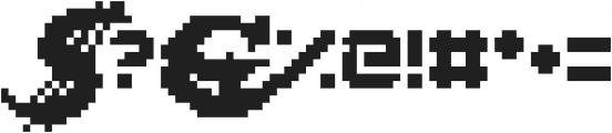 Lady Radical ttf (400) Font OTHER CHARS