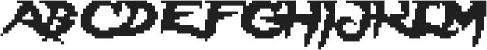 Lady Radical ttf (400) Font UPPERCASE