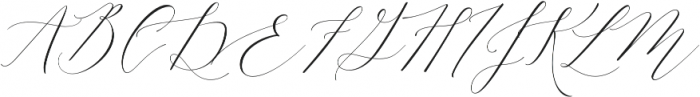 Lady Slippers Align otf (400) Font UPPERCASE