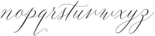 Lady Slippers Align otf (400) Font LOWERCASE