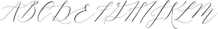 Lady Slippers Regular otf (400) Font UPPERCASE