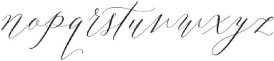 Lady Slippers Regular otf (400) Font LOWERCASE