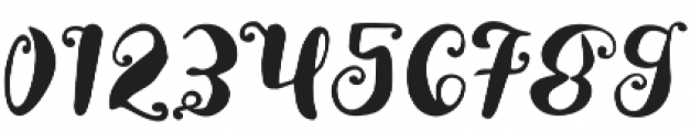 Lady rose Regular otf (400) Font OTHER CHARS