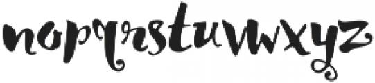 Lady rose Regular otf (400) Font LOWERCASE