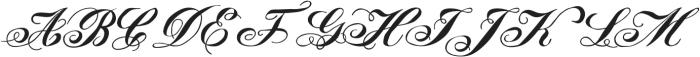 LadyVittoria otf (400) Font UPPERCASE
