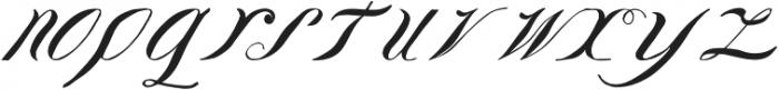 LadyVittoria otf (400) Font LOWERCASE