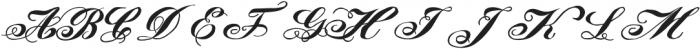 LadyVittoriaSmallcaps otf (400) Font UPPERCASE