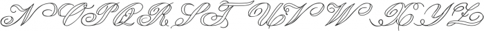 LadyVittoriaVoided otf (400) Font UPPERCASE