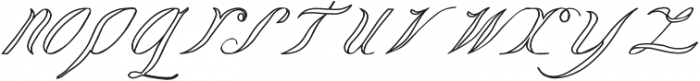 LadyVittoriaVoided otf (400) Font LOWERCASE