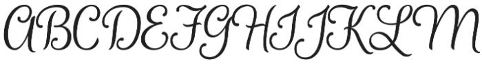 Ladybird otf (400) Font UPPERCASE