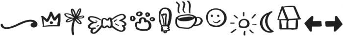Ladybugs Symbols otf (400) Font UPPERCASE