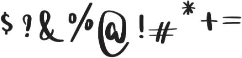 Ladybugs otf (400) Font OTHER CHARS