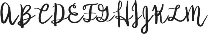 Ladybugs otf (400) Font UPPERCASE