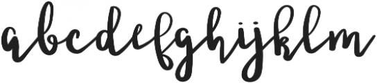 Ladybugs otf (400) Font LOWERCASE