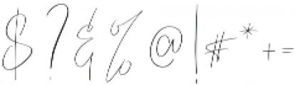 Ladytron otf (400) Font OTHER CHARS
