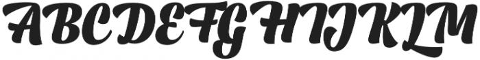 Lager Black otf (900) Font UPPERCASE