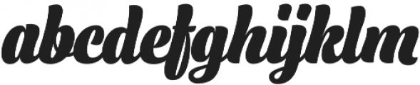 Lager Black otf (900) Font LOWERCASE