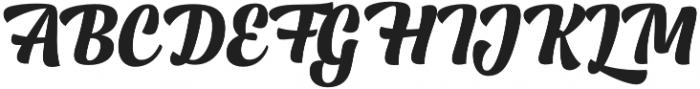 Lager Extra Bold otf (700) Font UPPERCASE