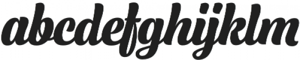 Lager Extra Bold otf (700) Font LOWERCASE
