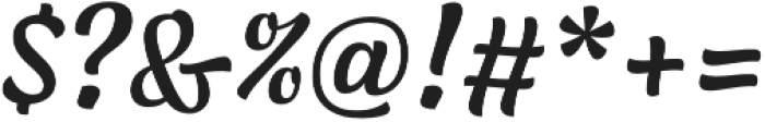 Lager Medium otf (500) Font OTHER CHARS